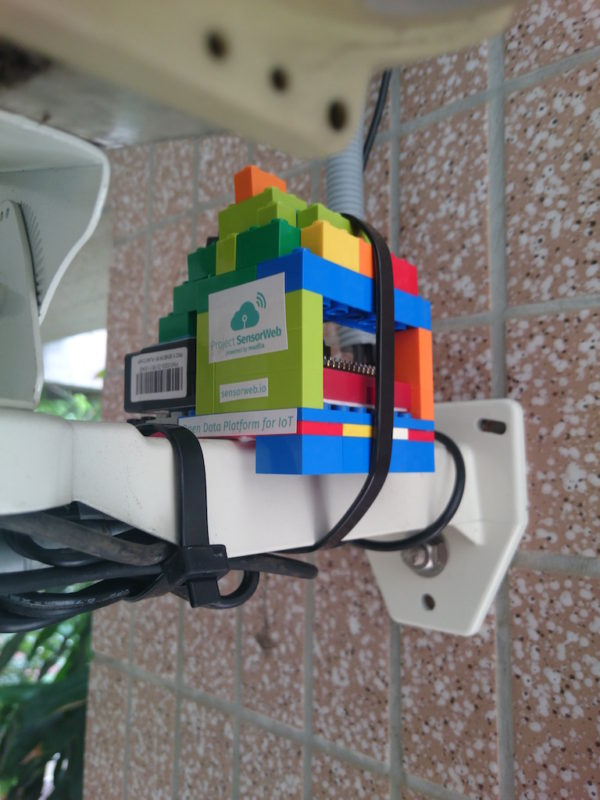 Our first PM2.5 sensor at Ping Sing Elementary School